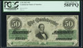Confederate Notes:1862 Issues, T50 $50 1862 PF-13 Cr. 360 PCGS Choice About New 58PPQ.. ...