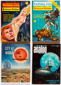 Analog and Others Science Fiction Digest Pulps Box Lot (Various, 1960s-80s) Condition: Average FN+.... (Total: 2 Box Lot...
