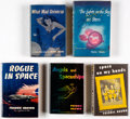 Books:Hardcover, Fredric Brown Vintage Hardcover Novels Group of 5 (Dutton/Shasta, 1949-57).... (Total: 5 Items)