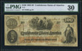 Confederate Notes:1862 Issues, T41 $100 1862 PF-10 Cr. 315A PMG Very Fine 30.. ...