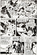 Original Comic Art:Panel Pages, Wally Wood Astonishing Tales #2 Story Page 5 Doctor Doom Original Art (Marvel, 1970)....