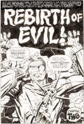 Original Comic Art:Splash Pages, Jack Kirby and Mike Royer The Demon #12 Chapter Two Splash Page 6 Original Art (DC, 1973)....