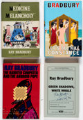Books:Hardcover, Ray Bradbury Signed Hardcover Volumes Group of 13 (Various, 1966-2010).... (Total: 13 Items)