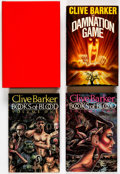 Books:Hardcover, Clive Barker Autographed Hardcover Editions Group of 4 (Various, 1984-85).... (Total: 4 Items)