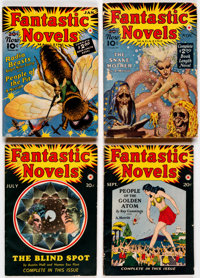 Fantastic Novels Magazine Group of 15 (New Publications, 1940-50) Condition: Average FN.... (Total: 15 Items)