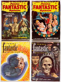 Famous Fantastic Mysteries Group of 28 (Frank A. Munsey Co., 1949-53) Condition: Average FN/VF.... (Total: 28 Items)