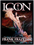 Books:Fine Press and Limited Editions, Frank Frazetta Icon: A Retrospective by the Grand Master of Fantastic Art Limited Slipcover Edition (Underwood Boo...