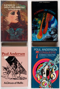 Books:Hardcover, Poul Anderson Hard Cover Volumes Group of 8 (Various, 1965-79).... (Total: 8 Items)
