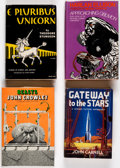 Books:Hardcover, Assorted Signed Science Fiction Hardcover Editions Group of 12 (Various, 1940s-50s).... (Total: 12 Items)