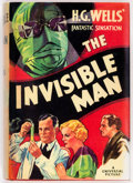 Books:First Editions, H. G. Wells The Invisible Man Photoplay Edition (Grosset & Dunlap, 1933)....