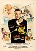 "Movie Posters:James Bond, From Russia with Love (United Artists, 1964). Folded, Fine/Very Fine. Spanish One Sheet (27"" X 39"") Macario ""Mac"" Gomez.. ..."