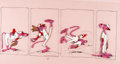 Animation Art:Limited Edition Cel, Pink Panther Baseball Limited Edition Hand Painted Cel #285/750 (DePatie Freleng/United Artists Pictures, 1992). ...