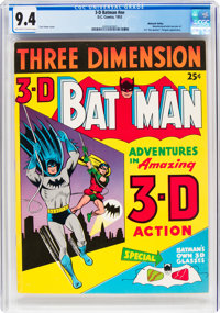 3-D Batman #nn Mohawk Valley Pedigree (1953) (DC, 1953) CGC NM 9.4 Off-white to white pages