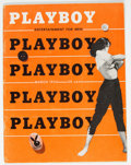 Magazines:Miscellaneous, Playboy #4 (HMH Publishing, 1954) Condition: FN+....