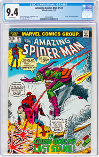 The Amazing Spider-Man #122 (Marvel, 1973) CGC NM 9.4 Off-white pages