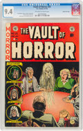Golden Age (1938-1955):Horror, Vault of Horror #25 Gaines File Copy 4/12 (EC, 1952) CGC NM 9.4 Off-white to white pages....