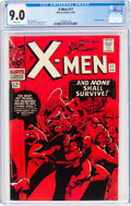 Silver Age (1956-1969):Superhero, X-Men #17 (Marvel, 1966) CGC VF/NM 9.0 White pages....