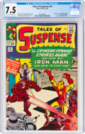 Silver Age (1956-1969):Superhero, Tales of Suspense #52 (Marvel, 1964) CGC VF- 7.5 Off-white to white pages....