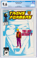Modern Age (1980-Present):Science Fiction, Transformers #79 (Marvel, 1991) CGC NM+ 9.6 Off-white to white pages....