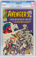 Silver Age (1956-1969):Superhero, The Avengers #14 (Marvel, 1965) CGC VF 8.0 Off-white to wh...