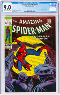 Silver Age (1956-1969):Superhero, The Amazing Spider-Man #70 (Marvel, 1969) CGC VF/NM 9.0 Cream to off-white pages....
