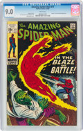 Silver Age (1956-1969):Superhero, The Amazing Spider-Man #77 (Marvel, 1969) CGC VF/NM 9.0 White pages....