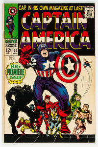 Captain America #100 (Marvel, 1968) Condition: VF-