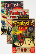 Silver Age (1956-1969):Superhero, Fantastic Four UK Editions Group of 5 (Marvel, 1963-64) Co...