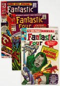Silver Age (1956-1969):Superhero, Fantastic Four Group of 8 (Marvel, 1960s-70s) Condition: A...