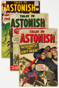 Silver Age (1956-1969):Horror, Tales to Astonish UK Editions Group of 4 (Marvel, 1960s) Condition: Average VG.... (Total: 4 Comic Books)