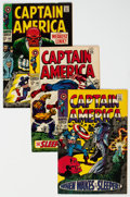 Silver Age (1956-1969):Superhero, Captain America Group of 24 (Marvel, 1968-76) Condition: A...