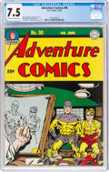Golden Age (1938-1955):Superhero, Adventure Comics #90 (DC, 1944) CGC VF- 7.5 Off-white to white pages....