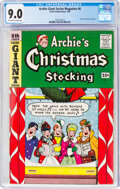 Silver Age (1956-1969):Humor, Archie Giant Series Magazine #6 Archie's Christmas Stocking (Archie, 1959) CGC VF/NM 9.0 Off-white to white pages....