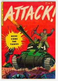 Attack #2 (Youthful Magazines, 1952) Condition: VF-