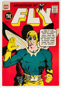 Adventures of the Fly #3 (Archie, 1959) Condition: VF