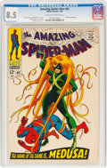 Silver Age (1956-1969):Superhero, The Amazing Spider-Man #62 (Marvel, 1968) CGC VF+ 8.5 Off-white to white pages....