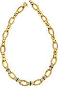 Estate Jewelry:Necklaces, Diamond, Sapphire, Gold Necklace, Tiffany & Co. . ...