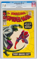 Silver Age (1956-1969):Superhero, The Amazing Spider-Man #45 (Marvel, 1967) CGC FN/VF 7.0 Off-white to white pages....