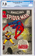 Silver Age (1956-1969):Superhero, The Amazing Spider-Man #46 (Marvel, 1967) CGC FN/VF 7.0 White pages....