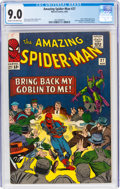 Silver Age (1956-1969):Superhero, The Amazing Spider-Man #27 (Marvel, 1965) CGC VF/NM 9.0 Cream to off-white pages....