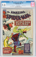 Silver Age (1956-1969):Superhero, The Amazing Spider-Man #24 (Marvel, 1965) CGC VF- 7.5 Off-white pages....