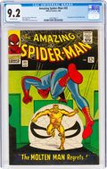 Silver Age (1956-1969):Superhero, The Amazing Spider-Man #35 (Marvel, 1966) CGC NM- 9.2 Off-white pages....