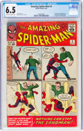 Silver Age (1956-1969):Superhero, The Amazing Spider-Man #4 (Marvel, 1963) CGC FN+ 6.5 Off-w...