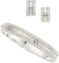 Estate Jewelry:Suites, Diamond, White Gold Jewelry Suite, Tiffany & Co. . ...