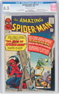 Silver Age (1956-1969):Superhero, The Amazing Spider-Man #18 (Marvel, 1964) CGC FN+ 6.5 Off-...