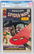 Silver Age (1956-1969):Superhero, The Amazing Spider-Man #22 (Marvel, 1965) CGC FN/VF 7.0 Of...