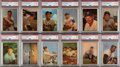 Baseball Cards:Sets, 1953 Bowman Color Baseball High-Grade Near Set (157/160). ...