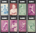 Baseball Cards:Sets, 1953 Canadian Exhibit Baseball Near Set (52/64). ...