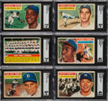 Baseball Cards:Sets, 1956 Topps Baseball Complete Set (340). ...