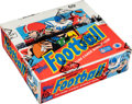 Football Cards:Unopened Packs/Display Boxes, 1986 Topps Football Cello Box with 24 Unopened Packs - Jerry Rice Rookie Year!...